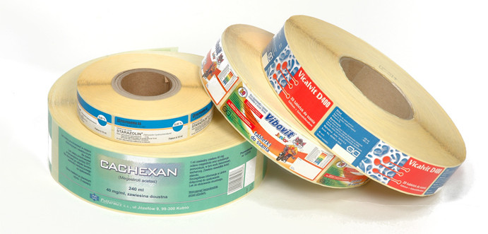 SELF-ADHESIVE LABELS IN THE FORM OF SHEETS, ROLLS AND LISTING PAPER