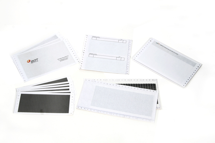 Confidential envelopes  (PIN, pay-roll)