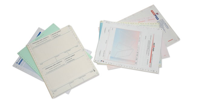 PAPER  FOR COMPUTER PRINTERS WITH THE SPECIAL PRINT